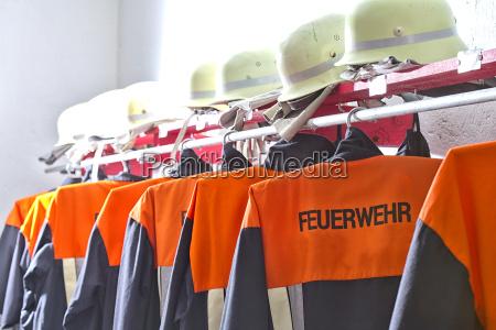 ropa de proteccion de bomberos en
