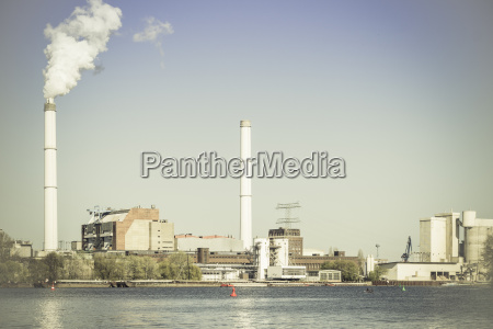 humo fumar industria central electrica nube