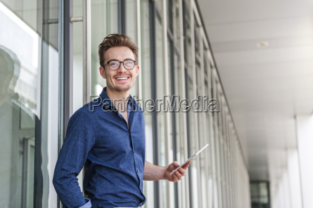 portrait of young businessman with
