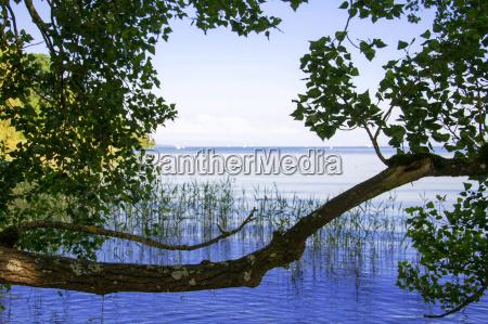 azul navegacion verano veraniego europa lago