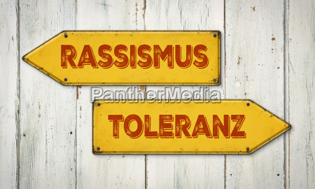 guide racism or tolerance
