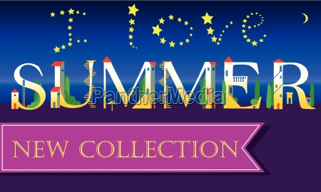 i love summer new collection holiday