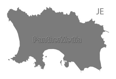 jersey mapa gris