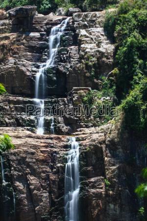 medio ambiente cascada tierras altas area