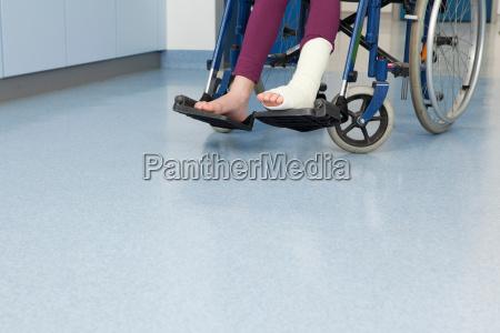 silla de ruedas corredor medicinal transporte
