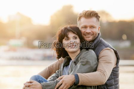mid adult couple portrait