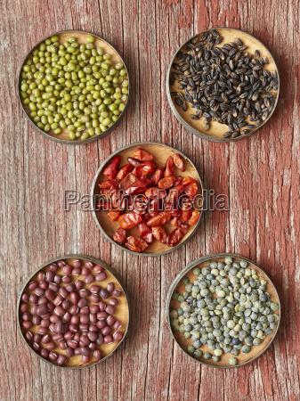 comida primer plano seco diversidad nadie
