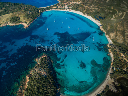 vista aerea de la playa splendid