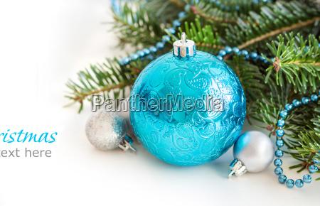 azul liberado fiesta arbol pelota invierno