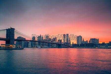 puente de brooklyn y manhattan al
