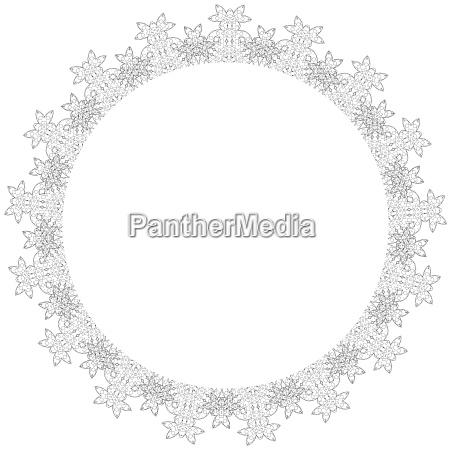 grafico elegancia cosecha ornamento simetrico decoracion