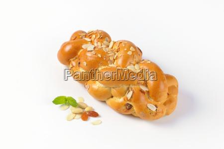 pan, trenzado, dulce - 19133799