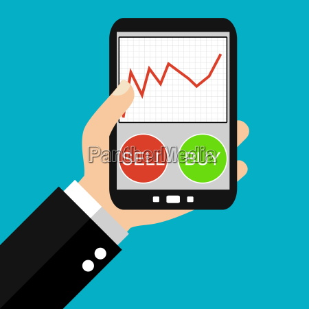 stock trading with the smartphone
