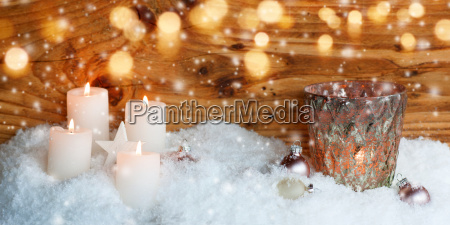 christmas motif for a greeting card