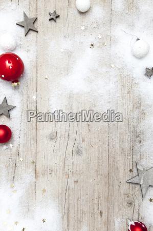 fondo de madera gris navidad con