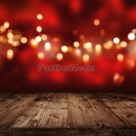fondo rojo con luces doradas