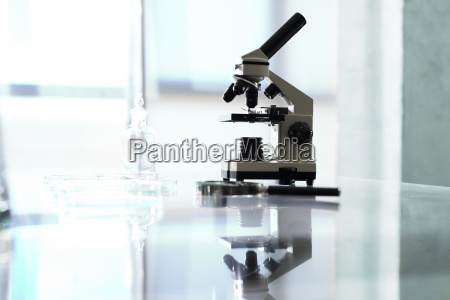 biotechnology lab microscope