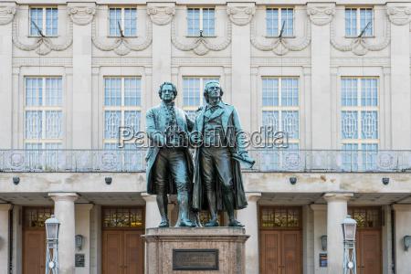 monumento arte famoso alemania clasico teatro