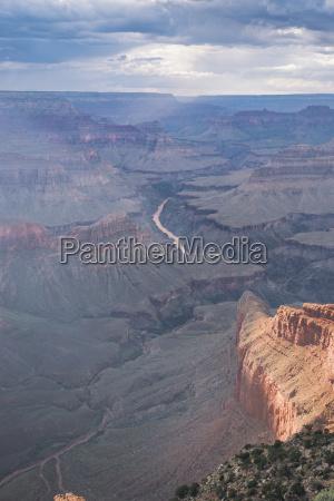 usa arizona south rim grand canyon