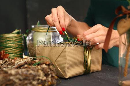 papel decoracion embargado navidad paquete villancicos