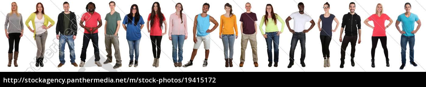 los, jóvenes, grupo, de, jóvenes, se - 19415172