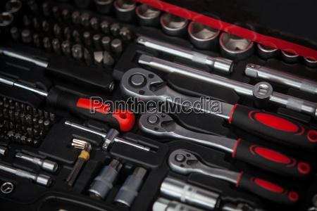 caja, de, herramientas, de, llaves - 19421710