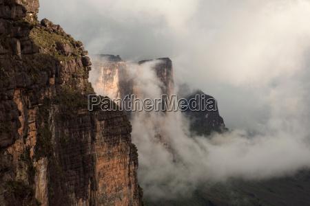 parque nacional nube al aire libre