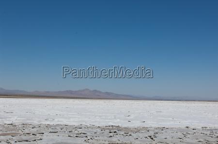 salt flats on route 66 california