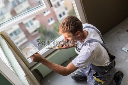 yeso renovando paredes y techos interiores