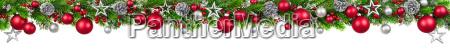guirnalda de la frontera de navidad