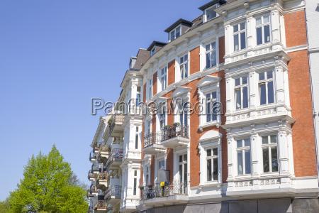 edificio, antiguo, en, hamburgo, alemania - 19664701