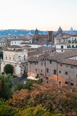 view of houses of old rome