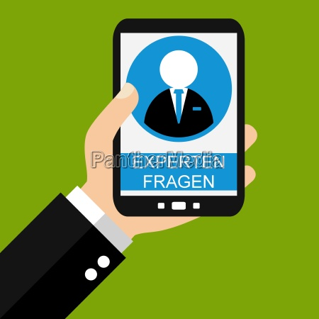 experts ask on the smartphone