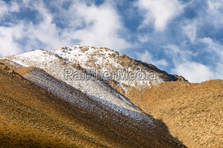 mountain in the elqui valley