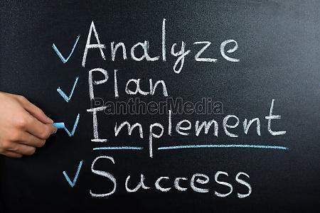 el plan de estrategia empresarial en