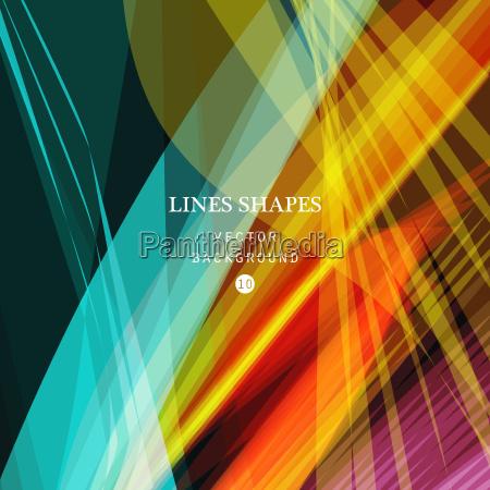 brillante colorido moderno rayas fondo abstracto