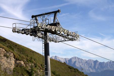 levantar ascensor tecnologia trafico turismo paisaje