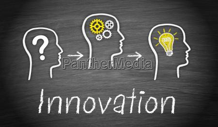 nuevo bombilla innovacion signo de interrogacion