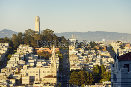 usa california san francisco view from