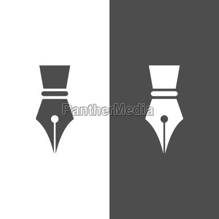 fontain icono de la pluma