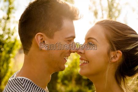 momento perfecto para un beso