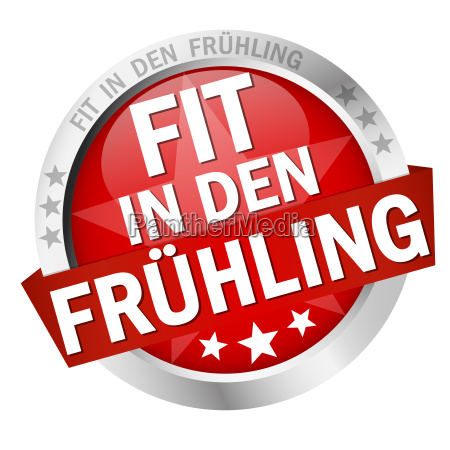 button with text spring fitness