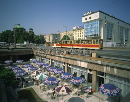cafe paseo viaje trafico europa horizontalmente