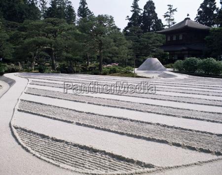 kyoto zen stone gardens japon asia