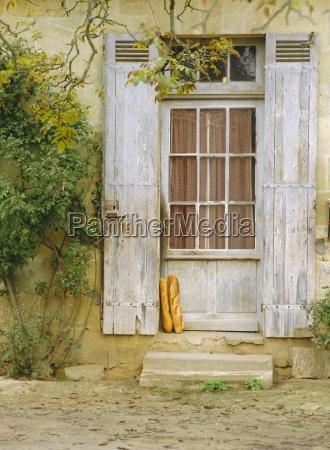 casa construccion comida pan objeto paseo
