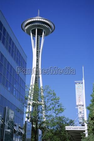 torre paseo viaje americano moderno eeuu