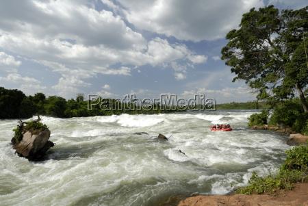 itanda falls victoria nile uganda east