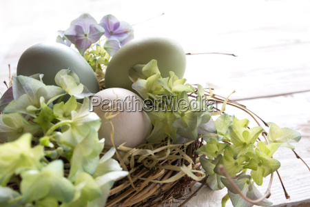 semana santa pastel naturaleza muerta huevos