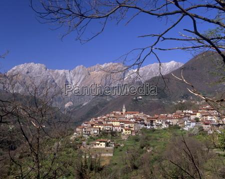 village of parania near massa in