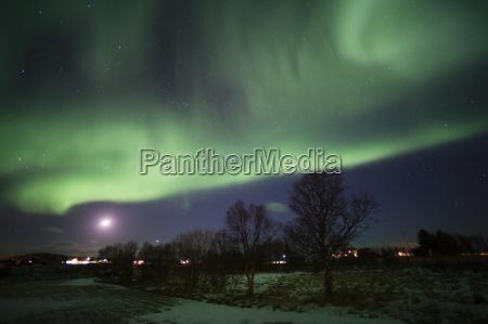 luces del norte aurora boreal laukvik